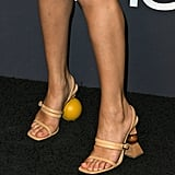 Selena's Jacquemus Mismatched Heels