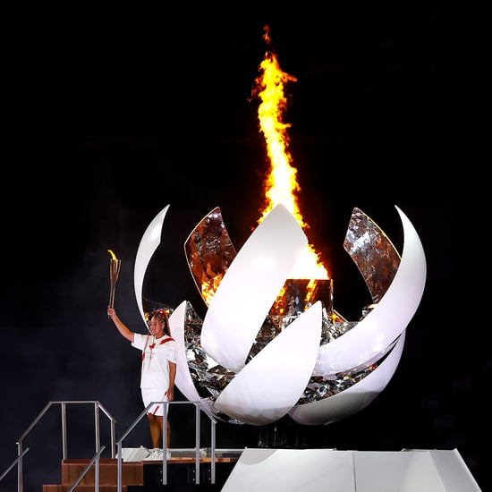Naomi Osaka Lights Olympic Cauldron at Opening Ceremony