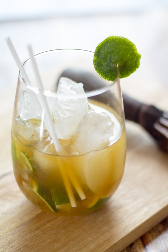 The caipirinha is the Brazilian national cocktail, made with lime, brown sugar, and cachaca, the most popular distilled spirit in Brazil. If you haven't tried one yet, we beg you to do it immediately.
