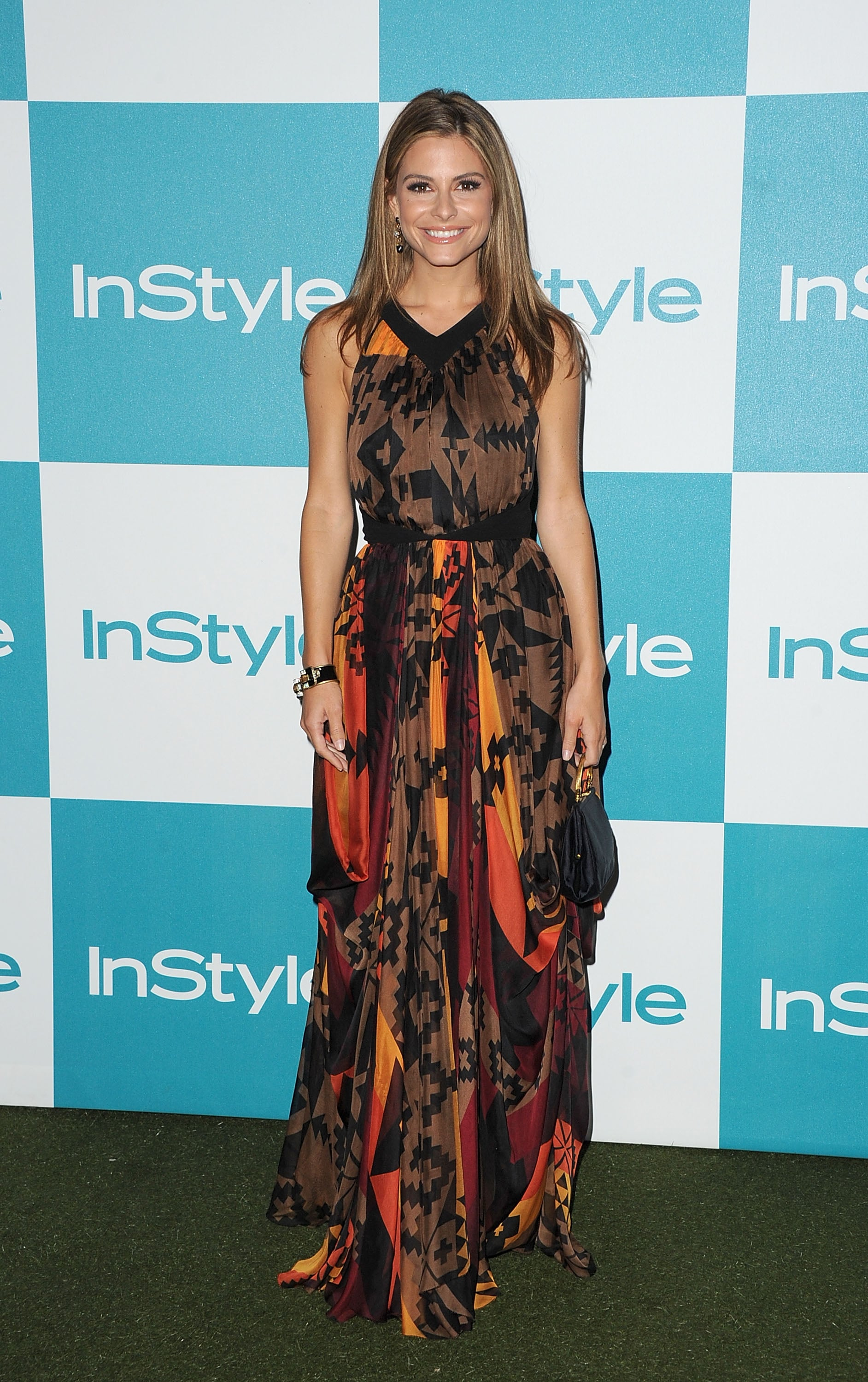 Maria Menounos at the 10th annual InStyle Summer soiree in LAMB.