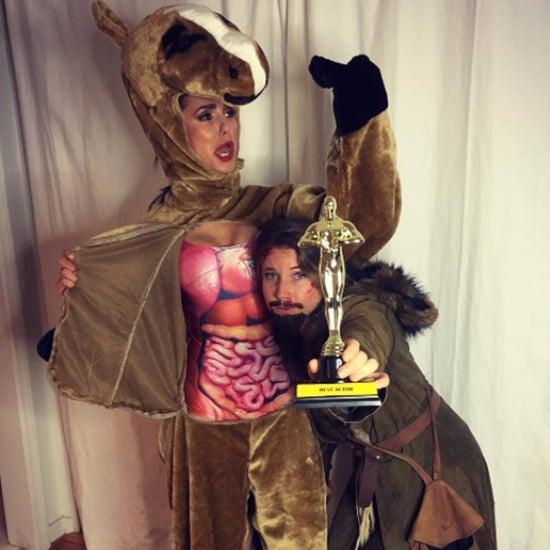 Nina Dobrev as Leonardo DiCaprio Halloween Costume 2016