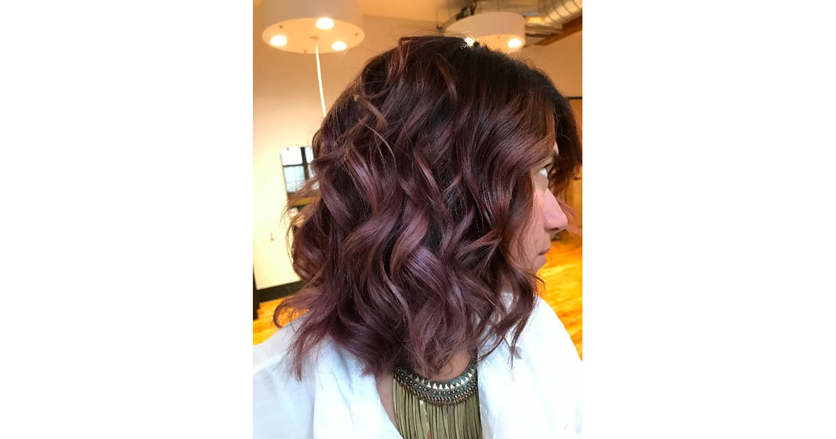 Chocolate Mauve In Daylight Chocolate Mauve Hair Color