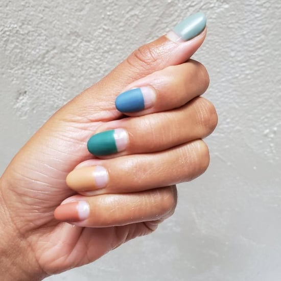 Hannah Bronfman's Negative-Space Nail Art