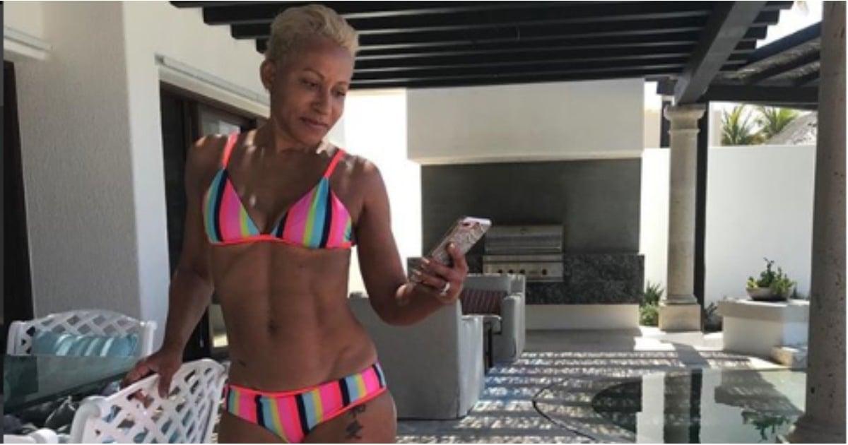 Jada Pinkett Smith's Mom in a Bikini | POPSUGAR Fitness ...