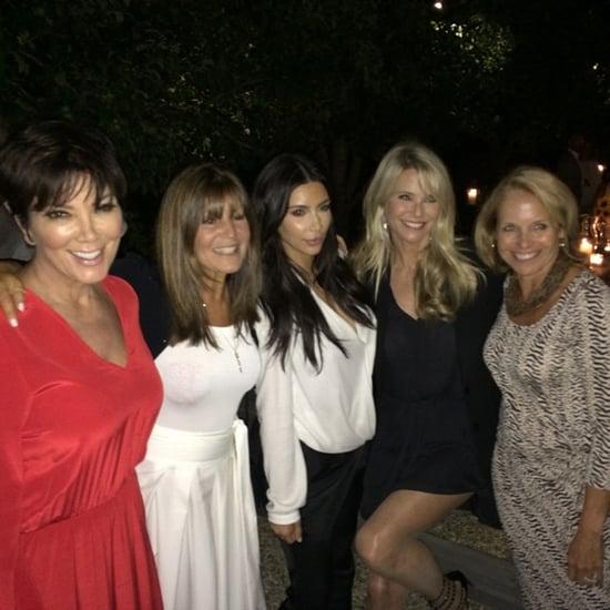 Kim Kardashian and Katie Couric End Feud