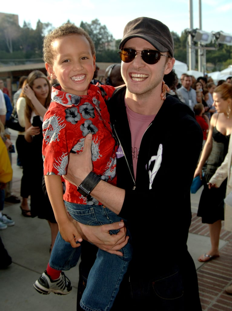 Pictures of Justin Timberlake With Children