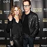 The duo wore matching black leather outfits for the American Hustle afterparty in NYC in December 2013.