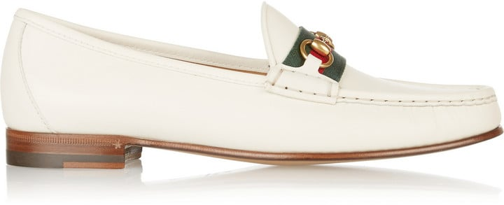 Gucci Horsebit Detail Leather Loafer ($640)