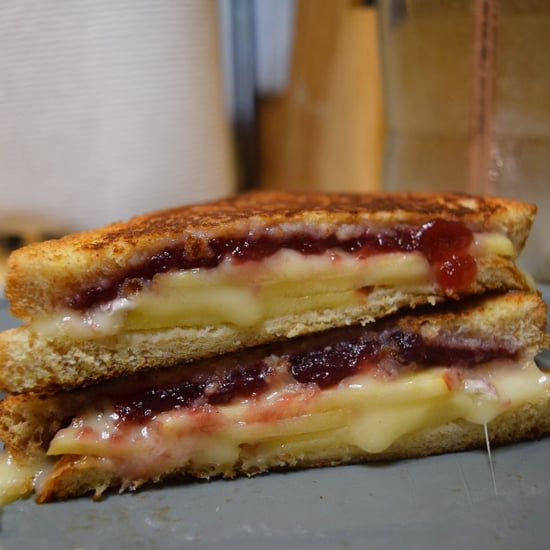 Brie, Apple, and Cranberry Grilled Cheese Recipe