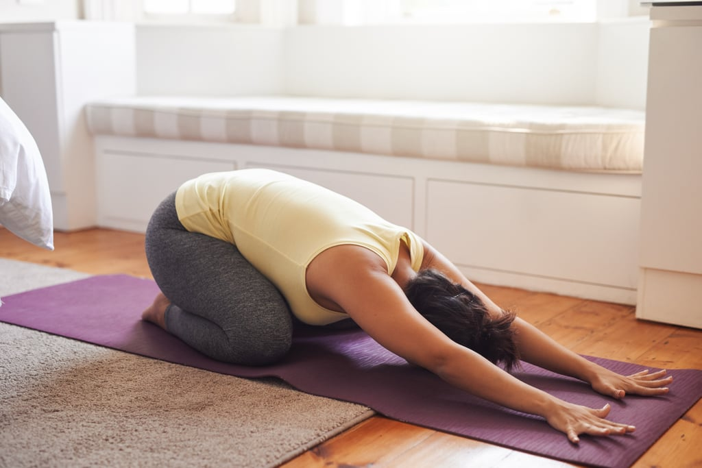Yoga Sequence For Period Cramps | POPSUGAR Fitness UK