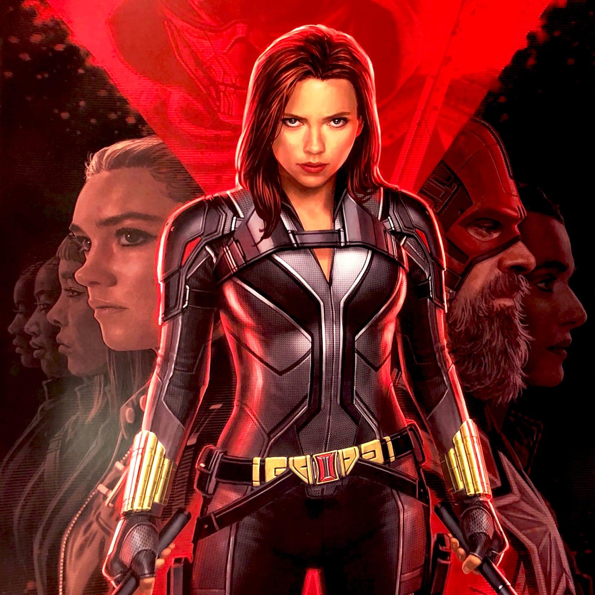 Marvel Black Widow Movie Poster Popsugar Entertainment