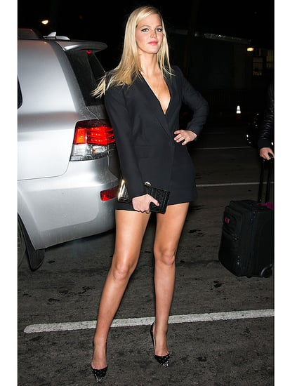 See How Erin Heatherton Stays in Supermodel Shape