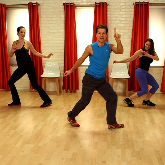 Dance workouts you can do at home popsugar fitness for Living room zumba