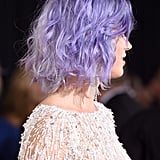Katy Perry's Lavender Lob From the Side