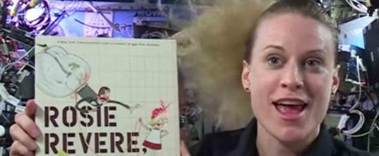Astronauts Read Children's Books in Space