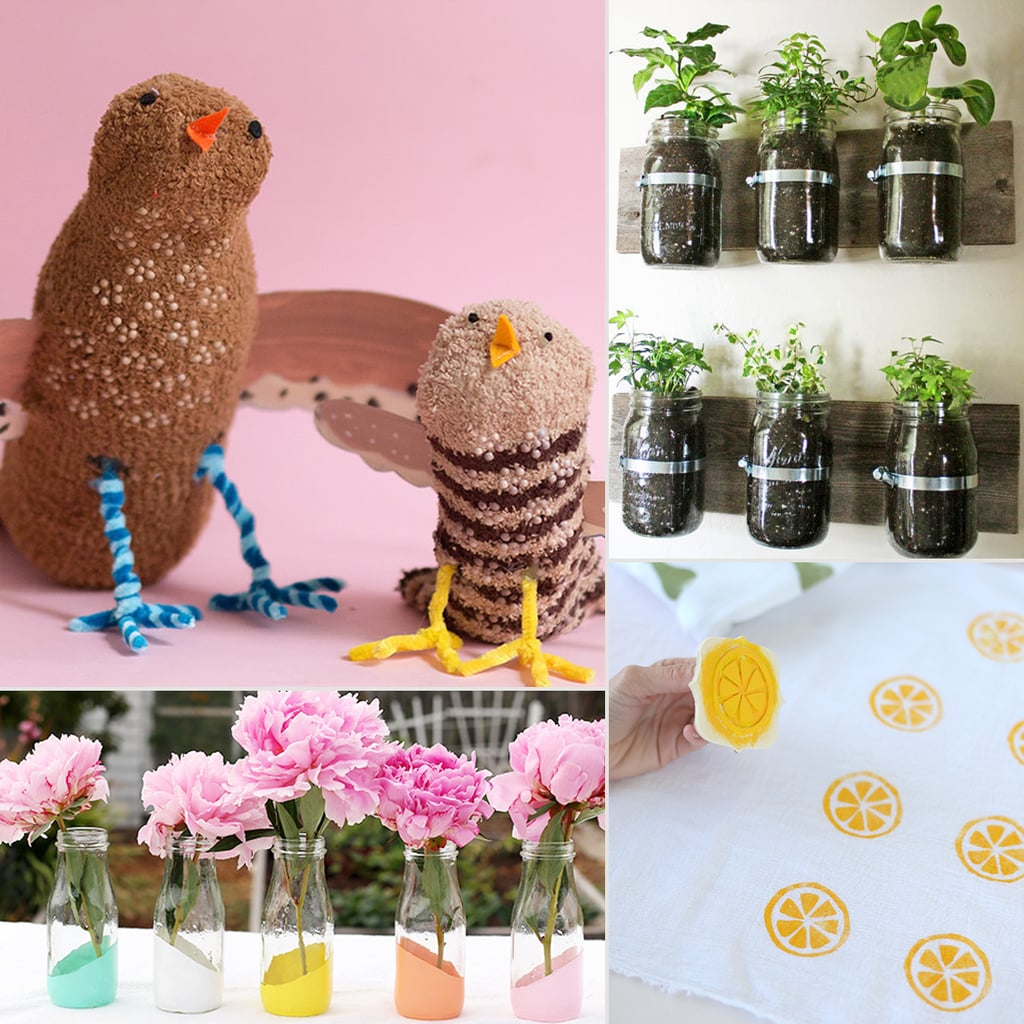 Featured 5 Spring Projects: Spring Kids' Crafts