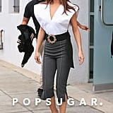 Selena Gomez Wore an Ensemble by Jacquemus and Gianvito Rossi Heels