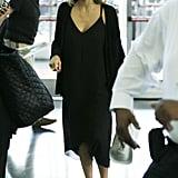 June at JFK Airport