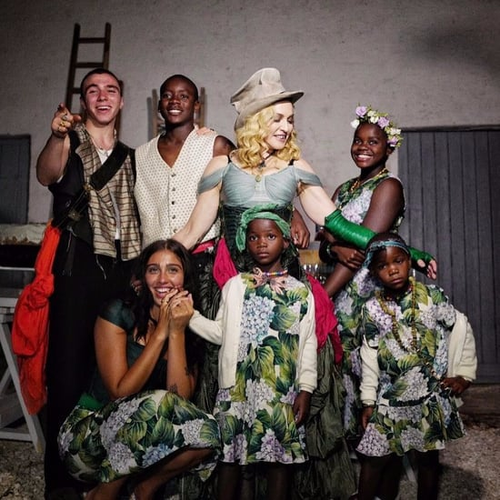 Madonna Shares First Family Photo of Her Kids on Instagram
