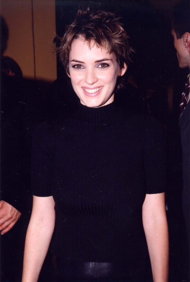 Winona Ryder Coolest Female Celebrities Of The 1990s