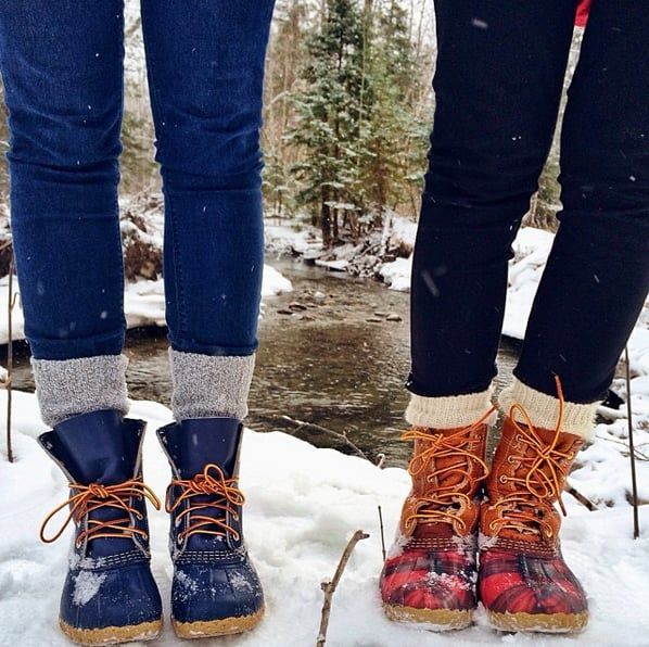 how to wear sperry duck boots