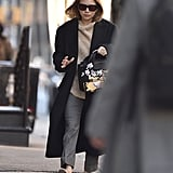 Ashley Olsen's Graphic Handbag