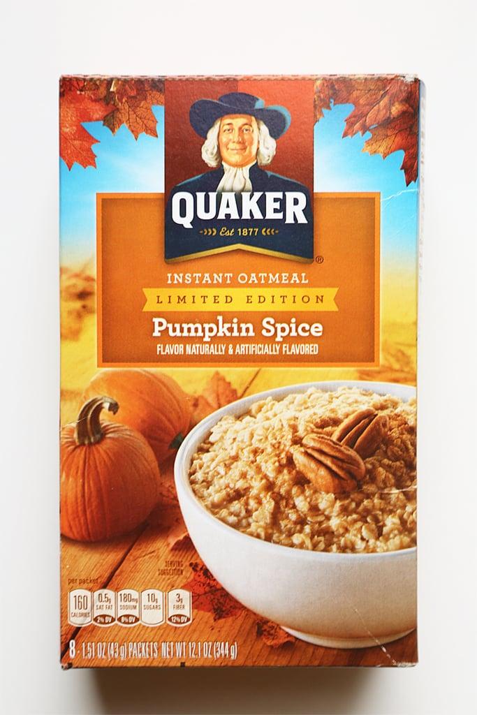 Quaker Pumpkin Spice Instant Oatmeal