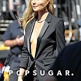 Gwyneth Paltrow filmed a Hugo Boss ad campaign.