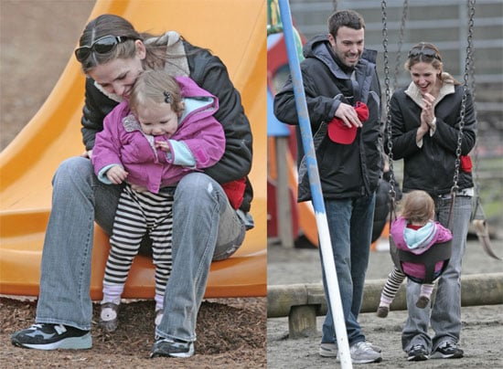 Violet Charms Her Parents All the Way to the Park