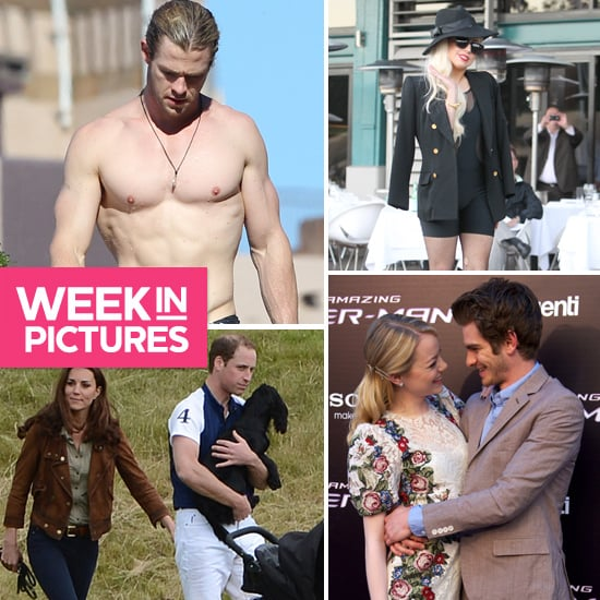 The Week in Pictures: Chris Hemsworth Shirtless, Emma Stone and Andrew Garfield World Domination & More!