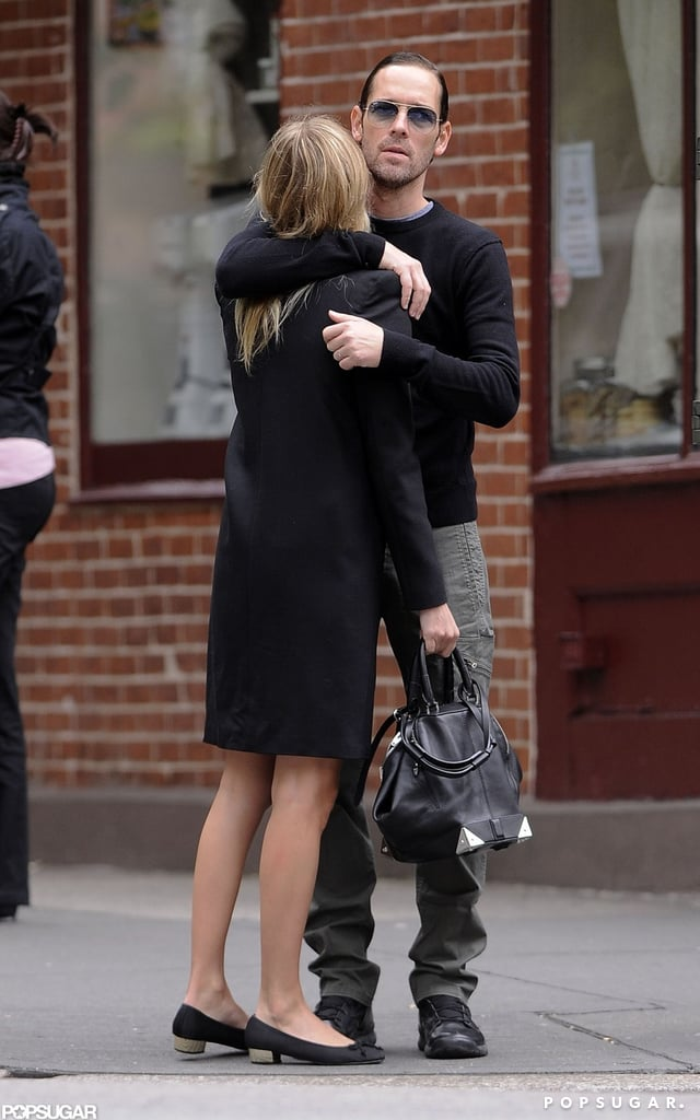Kate Bosworth and boyfriend Michael Polish embraced in the West Village in NYC.