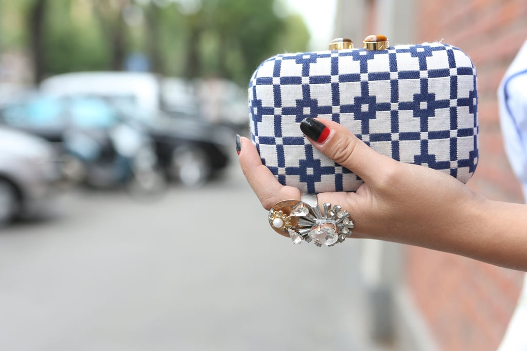 This printed minauderie is quite literally a little piece of arm candy. Source: IMAXtree