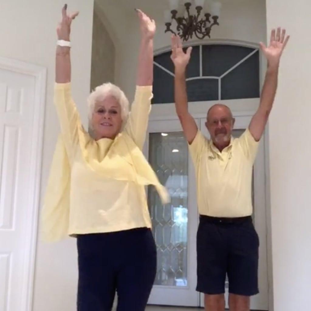 Grandparents Do Tiktok Dances For Their Grandkids Popsugar Family