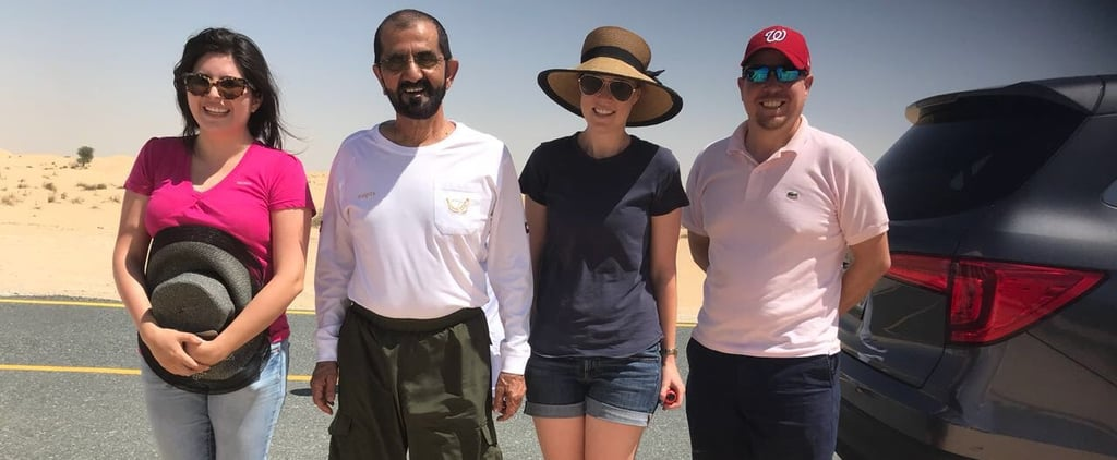 Sheikh Mohammed Rescued These Tourists Stranded in the Dubai Desert and We Kinda Wish It Was Us
