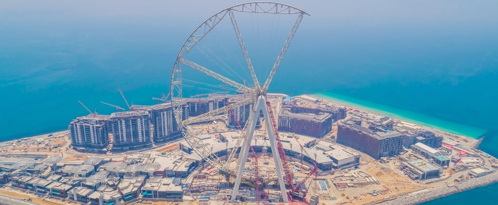The World's Largest Observation Wheel Is Really Starting to Take Over the Dubai Skyline