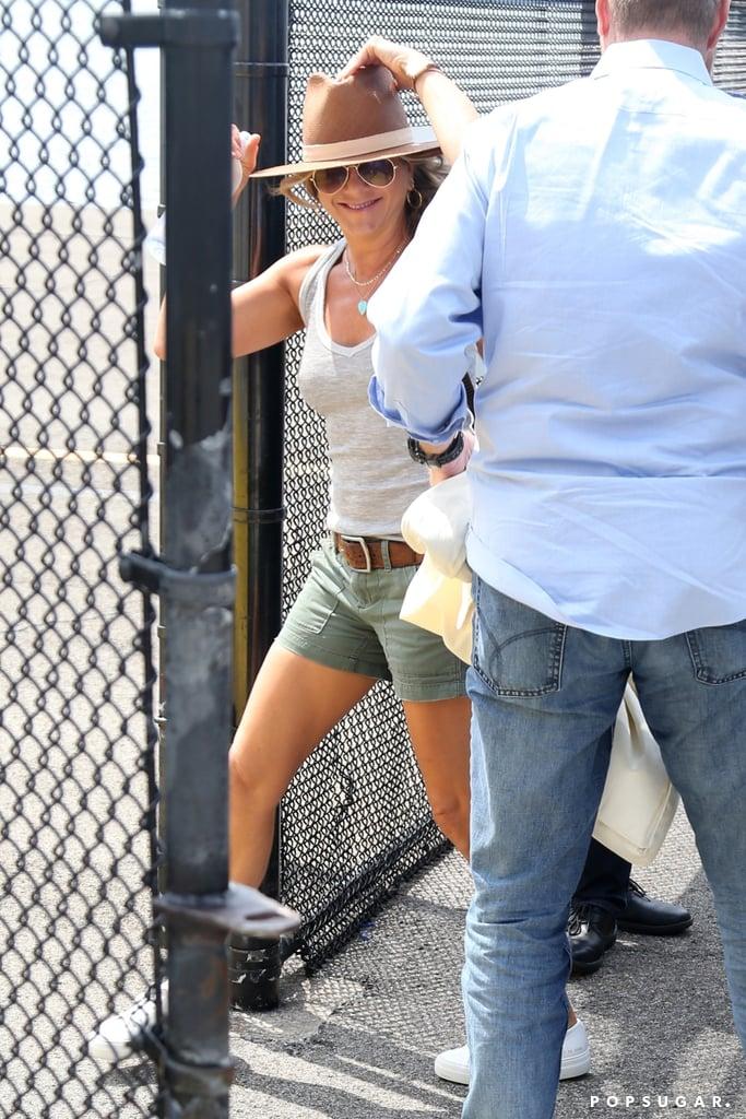 Jennifer Aniston Wearing a Hat July 2017