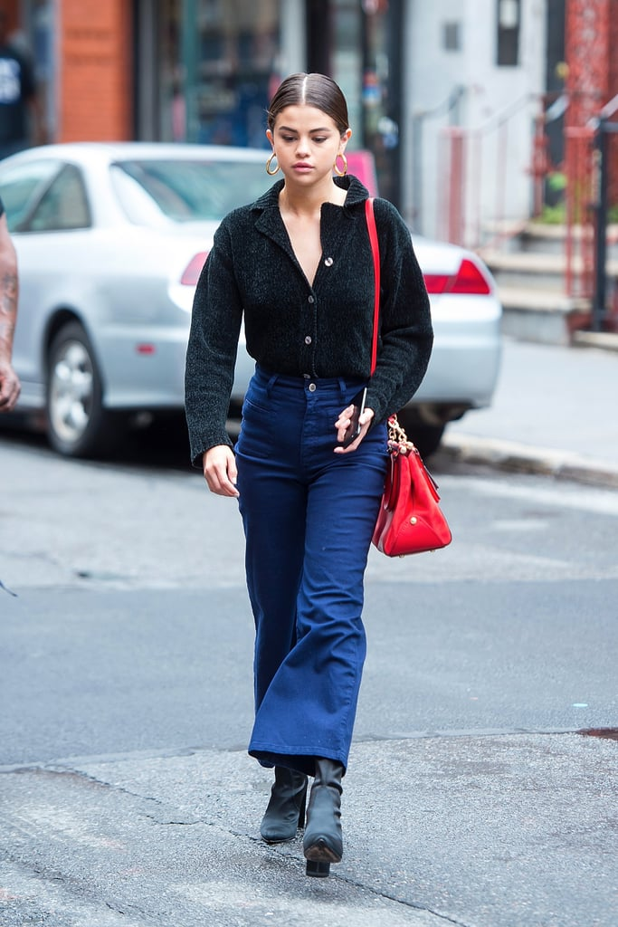 Selena Gomez Wore Fall's Most Popular Boot With a Special Pair of Pants