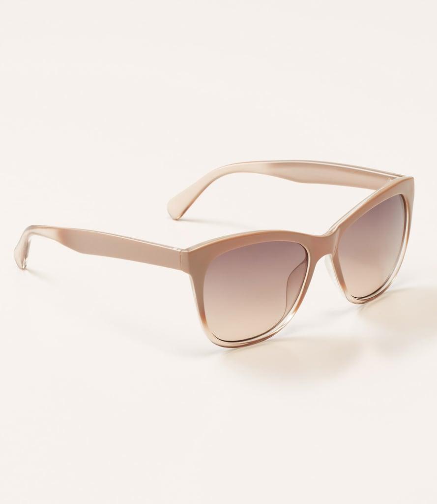 Loft Ombre Square Sunglasses ($25)