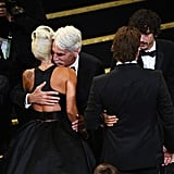 Pictured: Lady Gaga and Sam Elliott