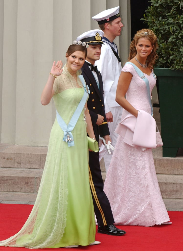 Princess Victoria Can Pull Off a Lime Green Gown