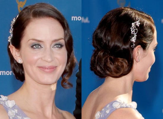 How To Get Emily Blunt's Emmy Awards Hairstyle!