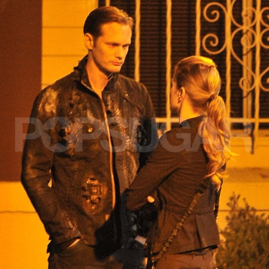 Alexander Skarsgård Leaves the True Blood Set to Take a Hike