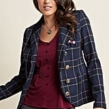 Refreshed Plaid Blazer