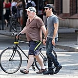 Justin Theroux and Philip Seymour Hoffman Toast Castings & Weddings