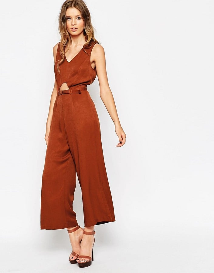 ASOS Jumpsuit With Open Back and Self Belt ($86)