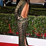 Eva Longoria's Backless Dress at the SAG Awards