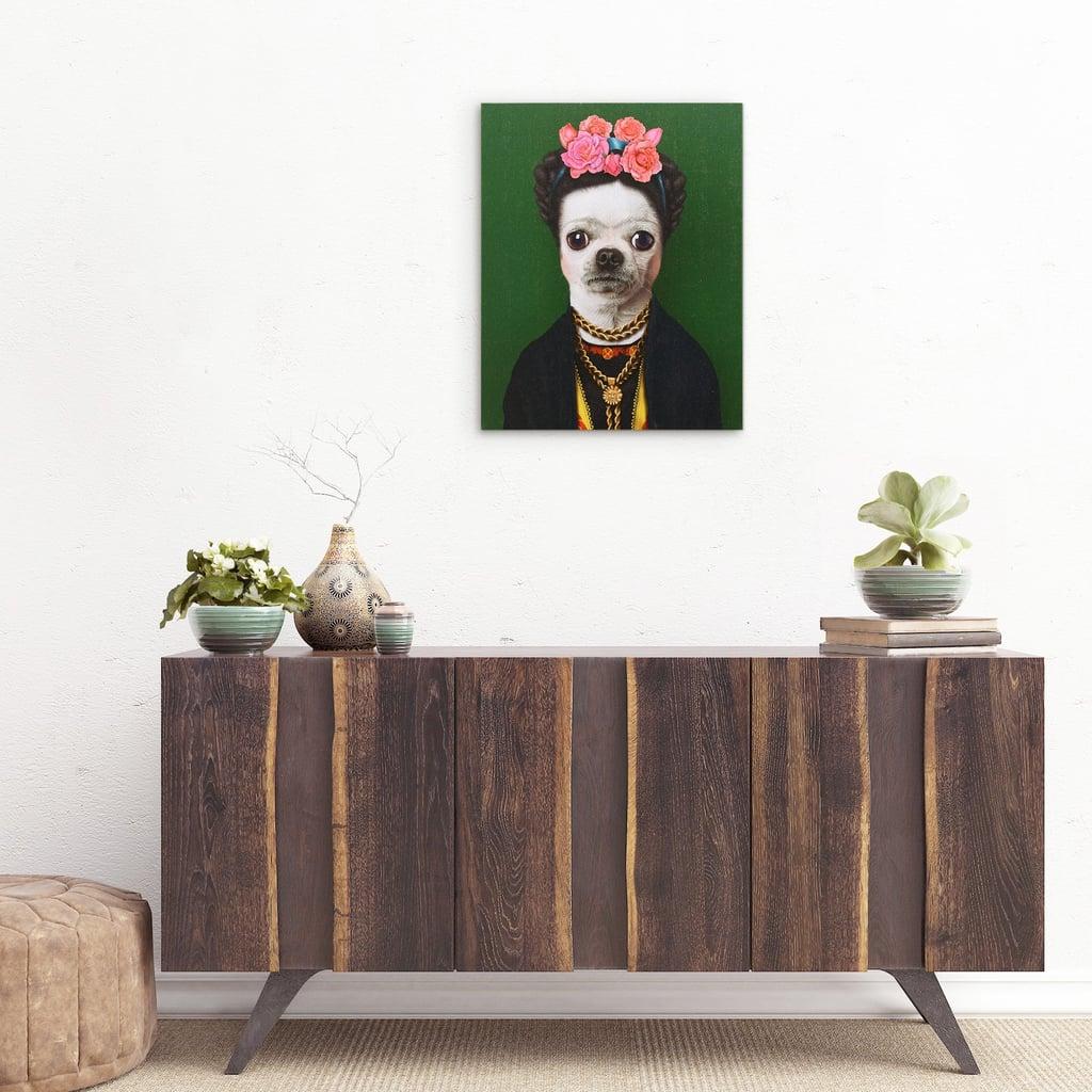 Dog Wall Art Canvas