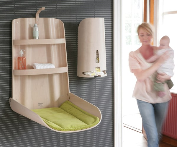 Bo Design Wall-Mounted Changing Table