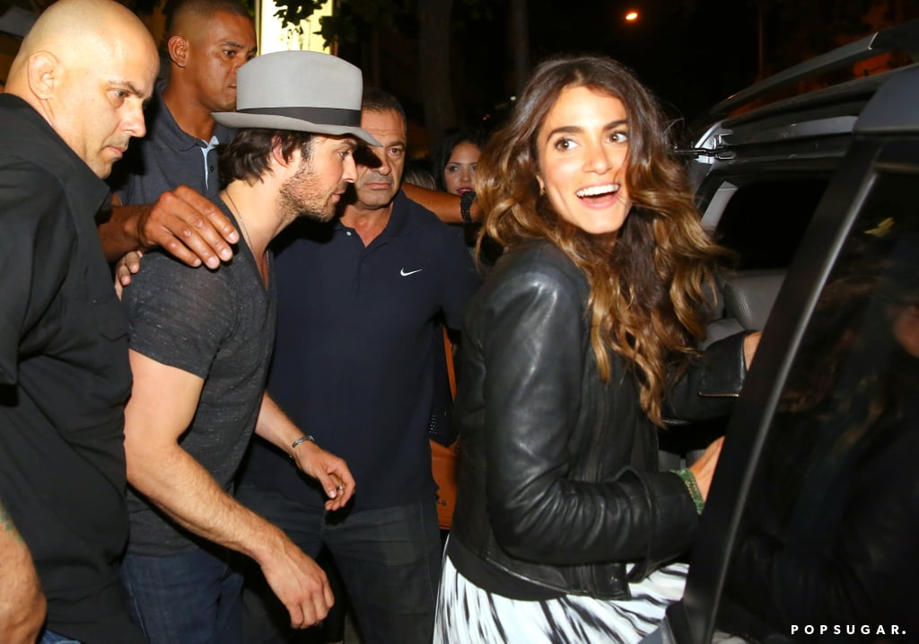 Ian Somerhalder and Nikki Reed With Paul Wesley in Brazil