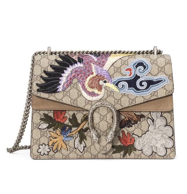 Gucci Dionysus 'GG Supreme' Canvas Shoulder Bag ($3,800)